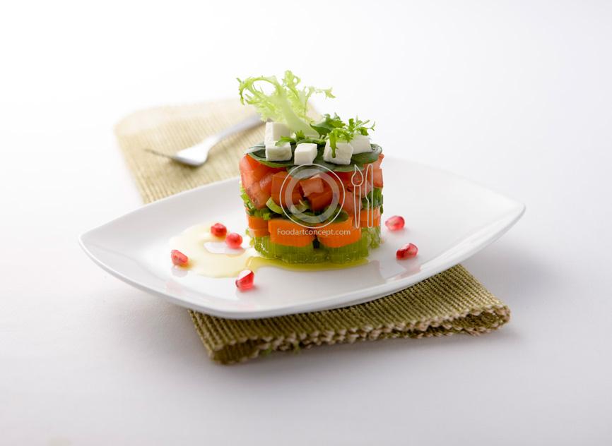 Creative Food Styling Ideas Dubai UAE amp Beirut : Salad Layers FoodArtConcept from www.foodartconcept.com size 866 x 632 jpeg 91kB