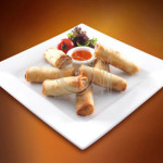 Food Styling Spring Rolls