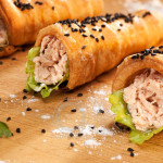 Food Styling Tuna Rolls