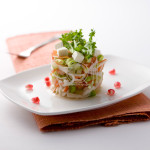 Food Styling Crab Salad for Advertising Companies