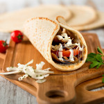 Food Styling Gyro Sandwich