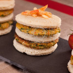 Food Styling Mini Burgers by Dubai Food Stylist Caro
