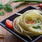 Food Styling Papaya Salad