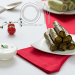 Food Styling Arabic Wine Leaves
