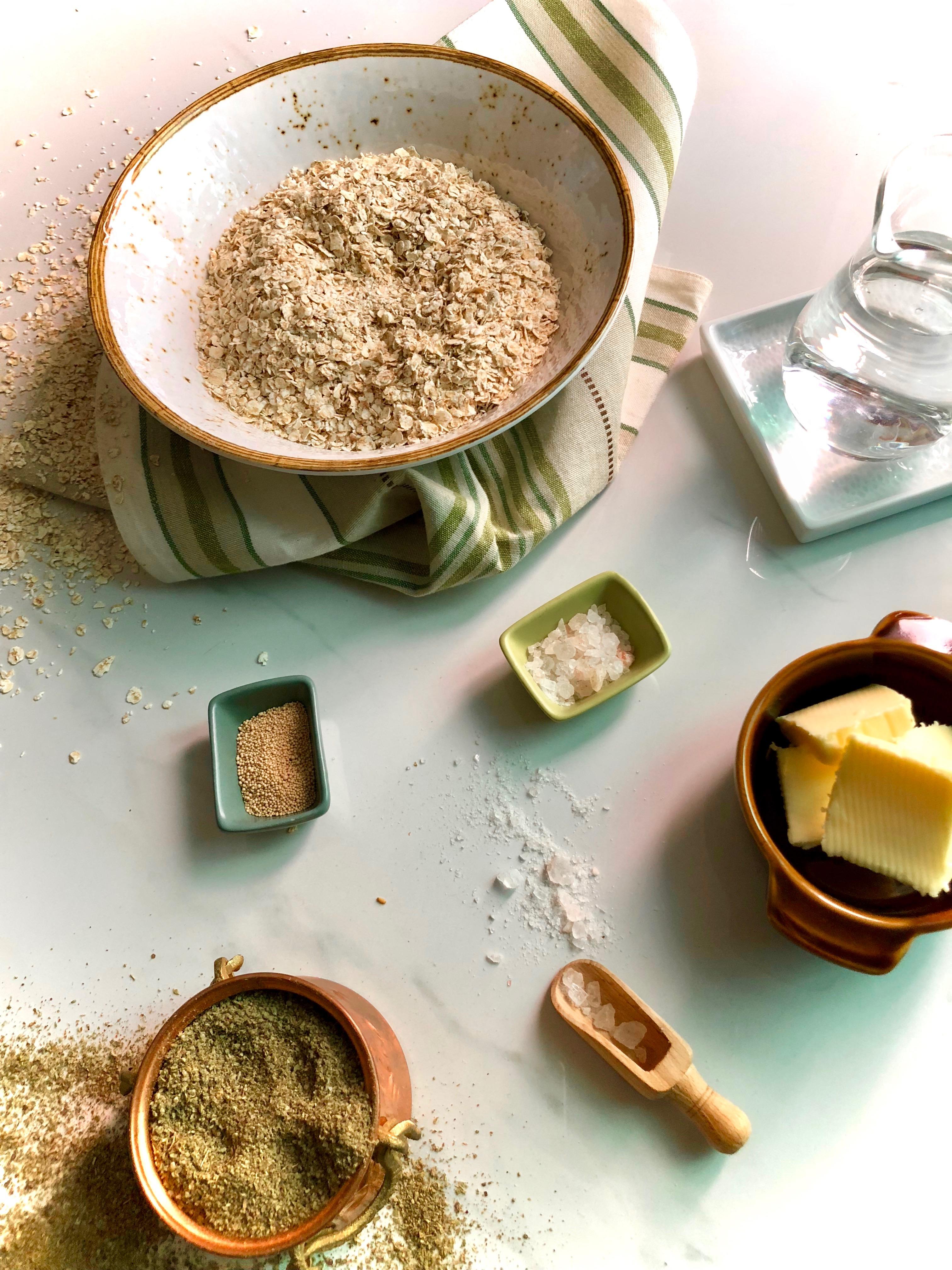 Oats Zaatar Cookies FoodArtConcept