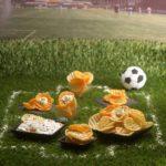Football Chips FoodArtConcept